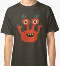 Funny Orange Creature Classic T-Shirt
