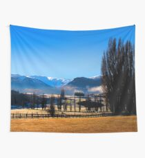 New Zealand Winter. Wall Tapestry