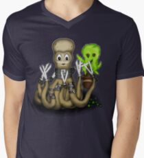 Eduardo Scissor Tentacles Men's V-Neck T-Shirt