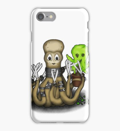 Eduardo Scissor Tentacles iPhone Case/Skin