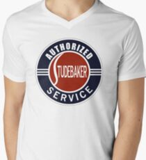 Authorized Studebaker Service vintage sign Men's V-Neck T-Shirt