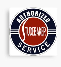Authorized Studebaker Service vintage sign Canvas Print