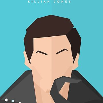 Killian 'Captain Hook' Jones Portrait Poster by ImEmmaR