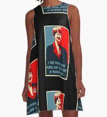 Prime Ministerial Propaganda A-Line Dress