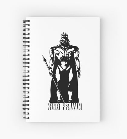 King Prawn Spiral Notebook