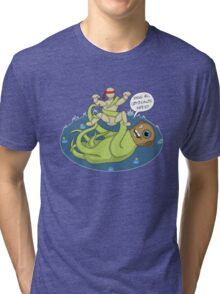 I dook you Bucky-bookoo Tri-blend T-Shirt