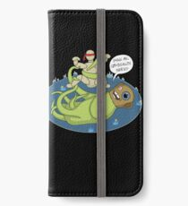 I dook you Bucky-bookoo iPhone Wallet/Case/Skin