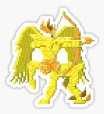 Sagittarius Armor - Saint Seya Pixel Art Sticker