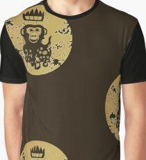 Acid Washed Octochimp Graphic T-Shirt