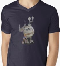 Asimo the cookie-bot Mens V-Neck T-Shirt