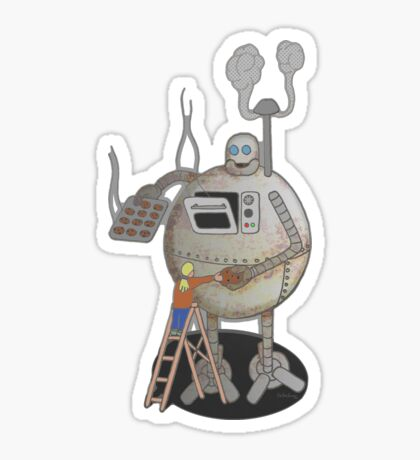 Asimo the cookie-bot Sticker