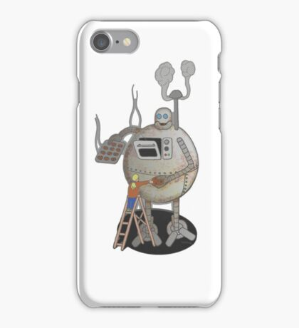 Asimo the cookie-bot iPhone Case/Skin