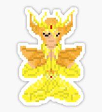 Virgo Shaka - Saint Seya Pixel Art Sticker