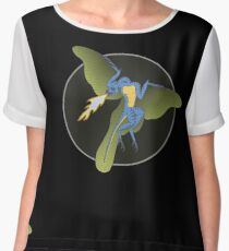 Archaeopteryx (the fire breathing kind) Chiffon Top