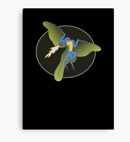 Archaeopteryx (the fire breathing kind) Canvas Print