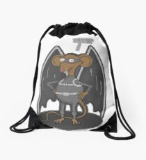 Yes, I am a bat ! Drawstring Bag