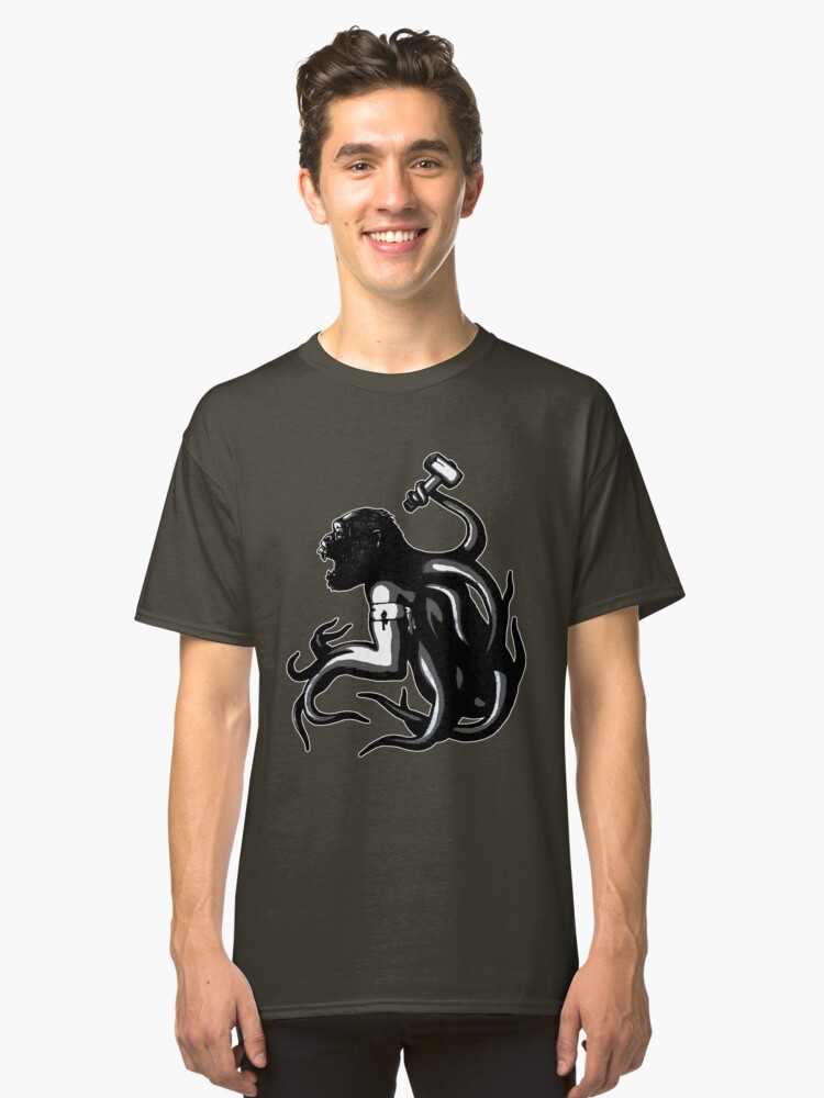 Shud, the last legionary of Simiacle Classic T-Shirt Front