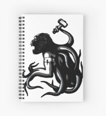 Shud, the last legionary of Simiacle Spiral Notebook