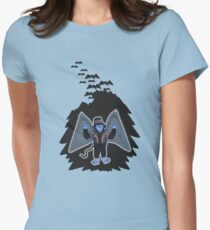 whatever happened to those cute flying monkeys? Women's Fitted T-Shirt