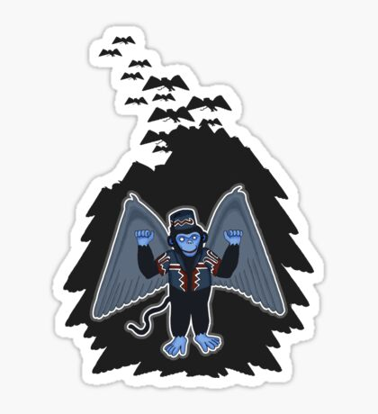 whatever happened to those cute flying monkeys? Sticker