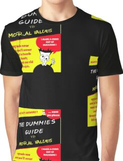 Moral Values for Dummies Graphic T-Shirt