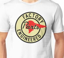 Pontiac Factory Parts vintage sign reproduction Unisex T-Shirt