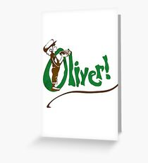 Oliver! Greeting Card