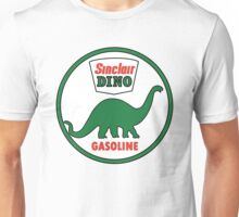 Sinclair Dino Gasoline vintage sign flat version Unisex T-Shirt