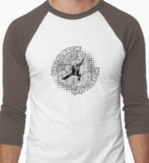 Budgie Style Kung Fu Men's Baseball ¾ T-Shirt