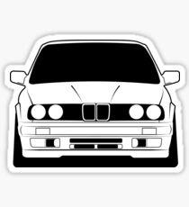 Young classic e30 Sticker