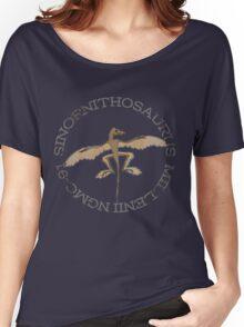 Sinornithosaurus Millenii NGMC-91 Women's Relaxed Fit T-Shirt