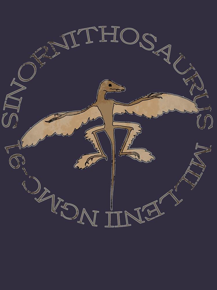 Sinornithosaurus Millenii NGMC-91 by RobGoodfellow