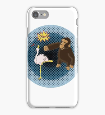 Crane Style Versus Monkey Fist iPhone Case/Skin