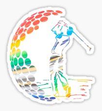 golf Sticker