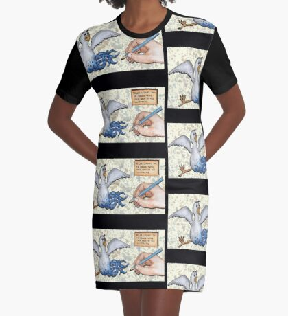 Roger Gets Taught a Lesson Graphic T-Shirt Dress