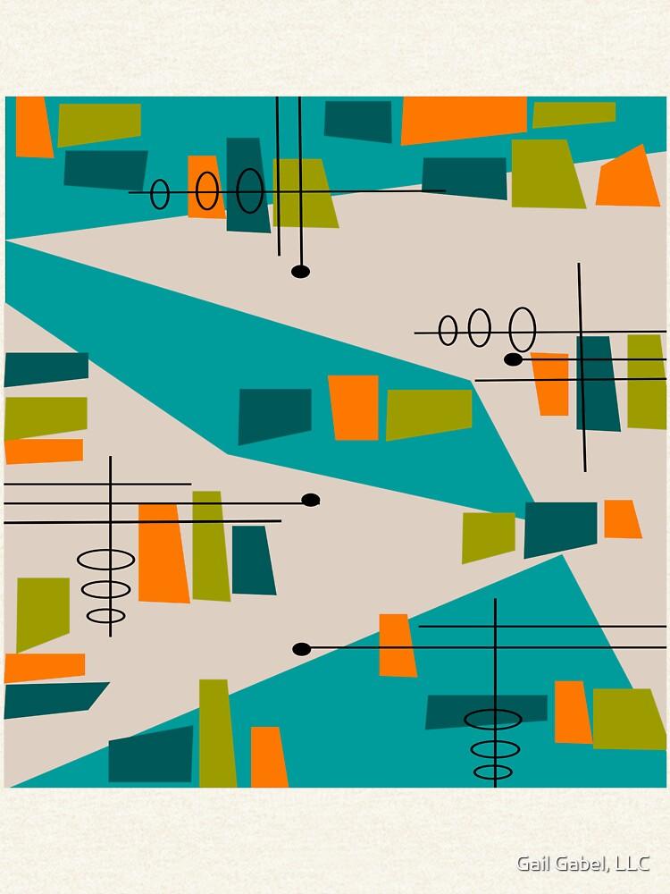 Mid-Century Modern Abstrakt Space Age von gailg1957