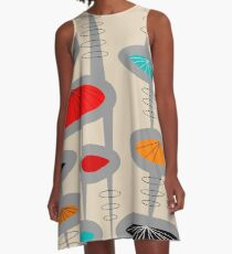 Atomic Era Inspired Art A-Linien Kleid