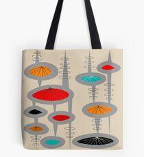 Atomic Era Inspired Art Tote Bag