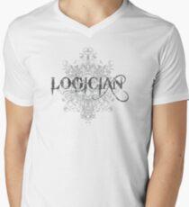 Logician At Work Men's V-Neck T-Shirt