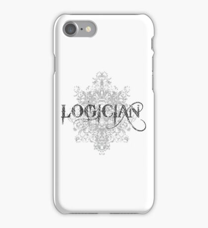 Logician At Work iPhone Case/Skin