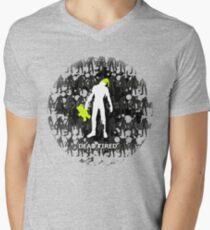 Dead Tired Men's V-Neck T-Shirt