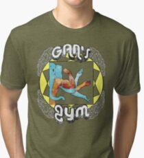 Gan's Gym - vintage Tri-blend T-Shirt