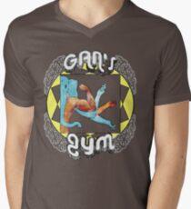 Gan's Gym - vintage Mens V-Neck T-Shirt