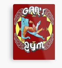 Gan's Gym - vintage Metal Print