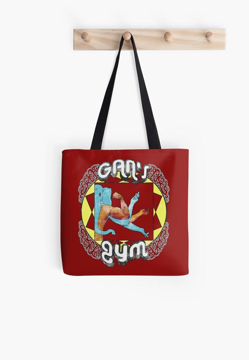 Gan's Gym - vintage by Octochimp Designs