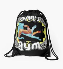 Gan's Gym - vintage Drawstring Bag