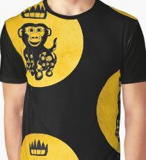 King Octochimp Says Hi Graphic T-Shirt