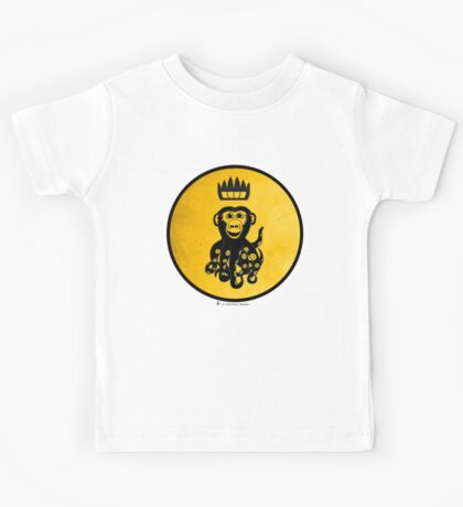 King Octochimp Says Hi Kids Clothes