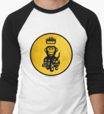 King Octochimp Says Hi Men's Baseball ¾ T-Shirt