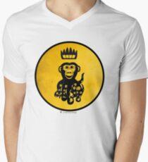 King Octochimp Says Hi Men's V-Neck T-Shirt